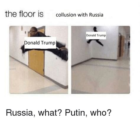 trump copypasta template the floor is collusion with russia donald trump donald