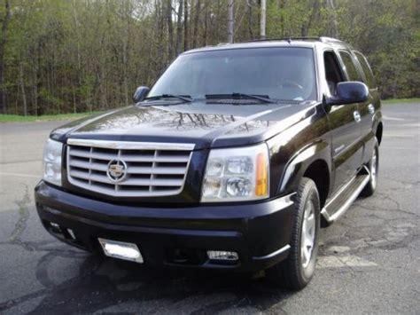 2002 Cadillac Escalade Problems by Buy Used 2002 Cadillac Escalade In Bernardston
