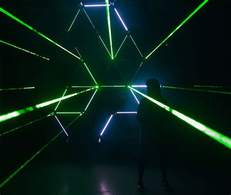 tessellaser led light installations lednews