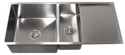 kitchen sink with drainboard 42 quot stainless steel undermount kitchen sink w drain board 6043