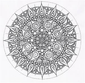 Find mandala images online and print out for coloring ...