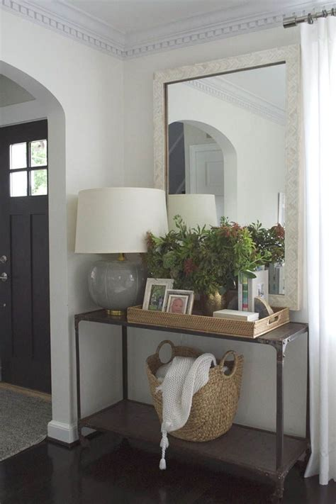 Living Room Entryway Design by Best 25 Black Entryway Table Ideas On Foyer