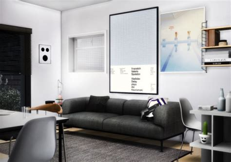 The Sims 4 Living Room