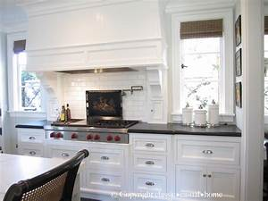 classic white kitchen backsplashes classic casual home With images of kitchens with white cabinets
