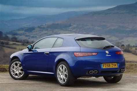 idrive alfa romeo brera is bold looking and almost there carscoops