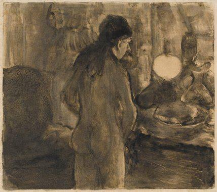 femme a sa toilette femme a sa toilette la cuvette by degas by degas edgar at fitzwilliam museum prints