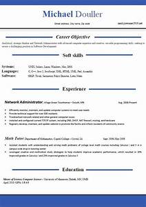 resume templates 2016 which one should you choose With curriculum vitae template word free download
