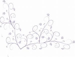 Purple Flower Vine Clip Art at Clker.com - vector clip art ...