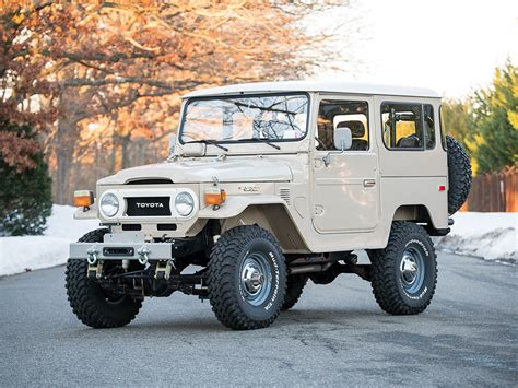 Toyota FJ40 Land Cruiser Offered at Auction Without ...