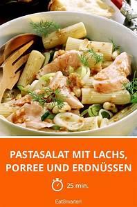 Leichte Salate Rezepte : pastasalat mit lachs porree und erdn ssen rezept nudelsalat rezepte ~ Frokenaadalensverden.com Haus und Dekorationen