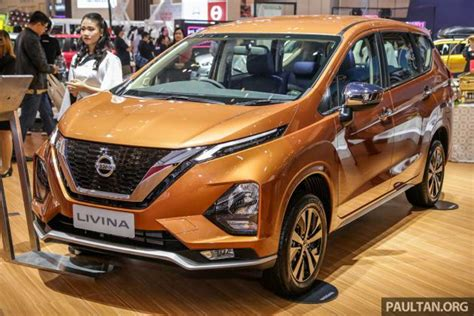 Nissan Livina 2019 by Ertiga Rivalling Nissan Livina 7 Seat Mpv Showcased At