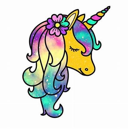 Unicorn Bright Galaxy Picsart Animal Purple Sparkle