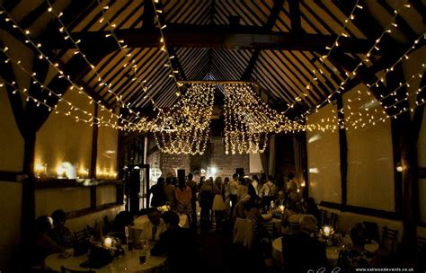 Marquee Ceiling Decorations by Bix Manor Fairy Lights