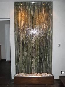 Fontaine Mur D Eau Exterieur : mur d eau exterieur studio creatiffr cration de sites ~ Premium-room.com Idées de Décoration