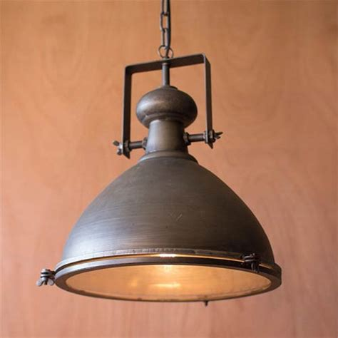 metal one light dome pendant iii kalalou dome pendant