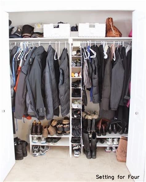 Low Cost Closet Organization Ideas easy low cost closet storage and organization ideas