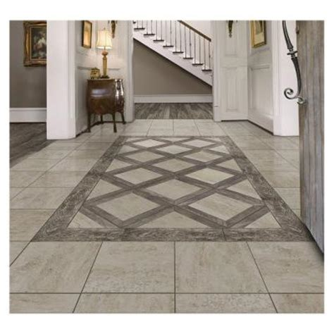 home depot rustic wood look tile marazzi montagna rustic 18 in x 18 in glazed