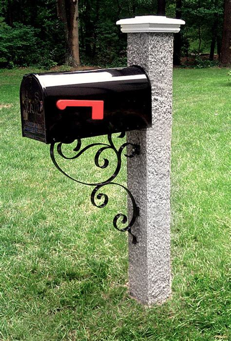 granite posts mailboxes brackets and accessories