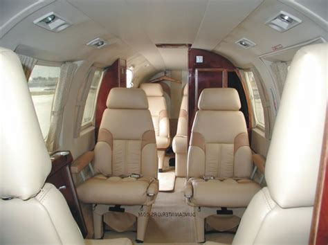 Cessna 421 interior photos