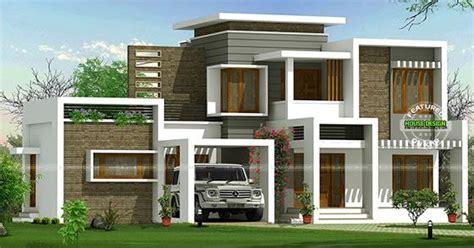 beautiful box type contemporary home kerala home design