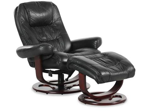 Furniture  Ikea Leather Recliner With Black Color Design