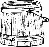 Barrel Coloring Pages Template Templates sketch template