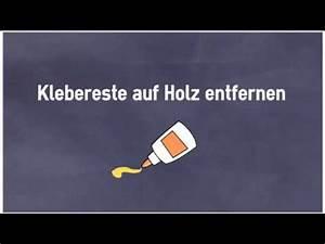 Klebereste Entfernen Fenster : 10 tipps um klebereste auf holz zu entfernen youtube ~ Watch28wear.com Haus und Dekorationen
