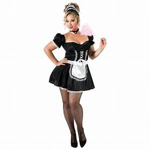 French Maid Costume Sexy Plus Size Adult Fancy Dress | eBay