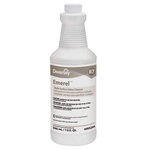 bathroom paper towels emerel multi surface creme cleanser fresh scent 1 qt
