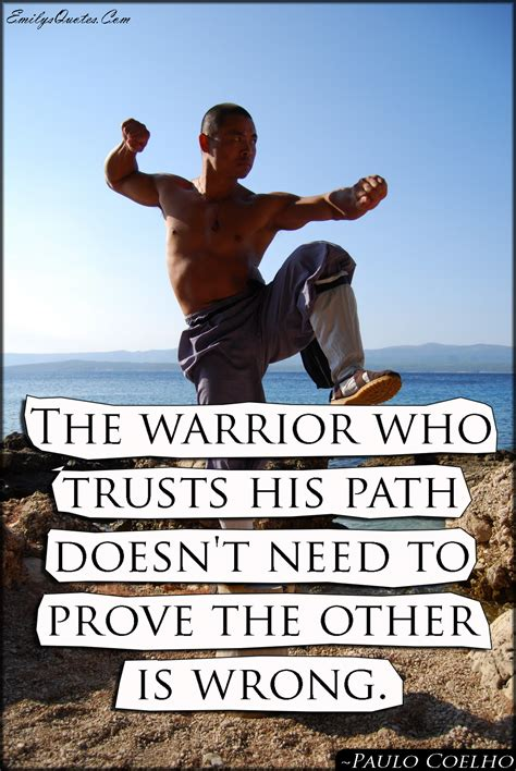 warrior  trusts  path doesnt   prove