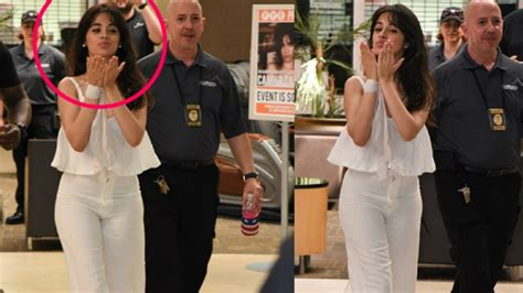 Camila Cabello Kisses Fans After Dating With Matthew