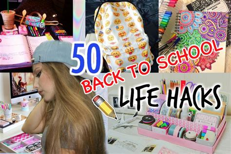 back to school hacks to 50 hacks for back to school how to