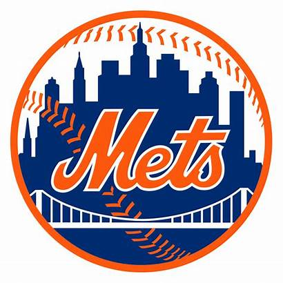 Mets York Wikipedia Ny Baseball Mlb Logos