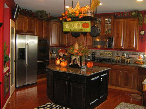 fall inspired kitchen