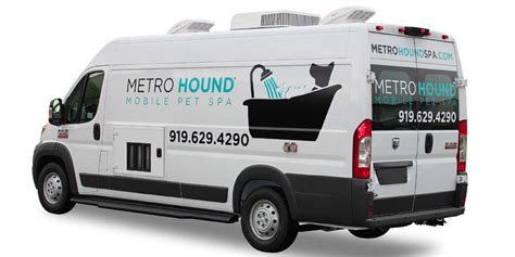 Mobile Groomers by Metrohound Spa Mobile Pet Grooming For Dogs And Cats