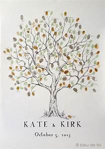 Arbre A Empreinte : l 39 arbre empreintes id es et accessoires pour votre mariage ~ Preciouscoupons.com Idées de Décoration