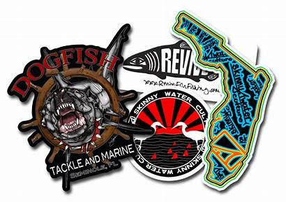 Custom Stickers Sticker Fish Labels Anglers Decals