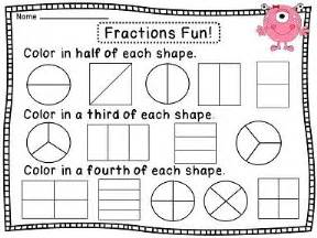 second grade math problems worksheet best 25 fractions worksheets ideas on