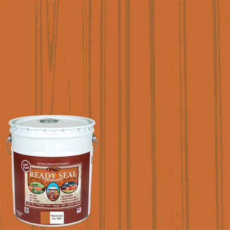 shop ready seal redwood semi transparent exterior stain
