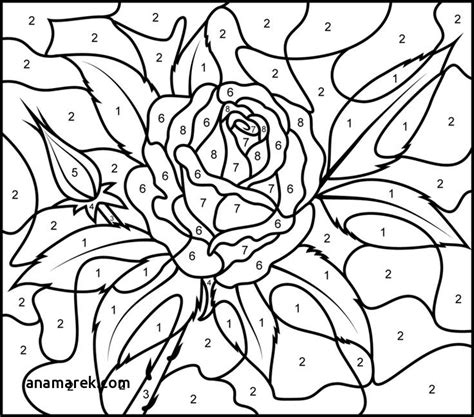 color by number coloring books coloring page