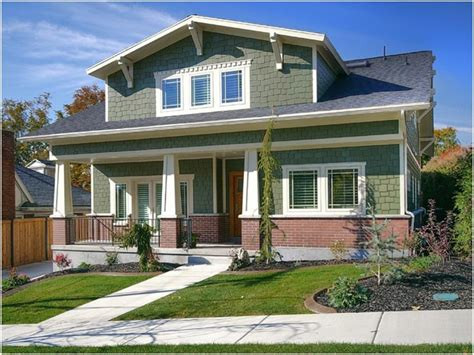 Bungalow Home Exterior Designs One Story Ranch Home