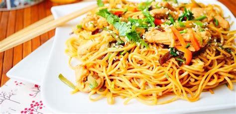 recette nouilles chinoises au poulet aux l 233 gumes circulaire en ligne