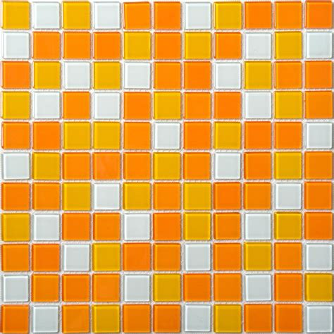 glass tile backsplash pictures for kitchen glass mosaic tiles white and orange mixed glass