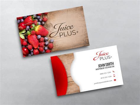 Juice Plus Business Card 02