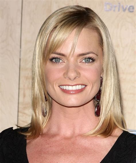 Jamie Pressly Medium Straight Formal Hairstyle with Side