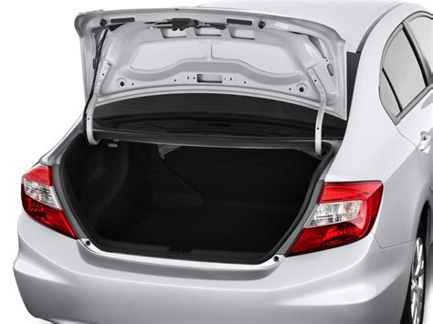 2012 Honda Civic Sedan 4-door Auto Lx Trunk, Size