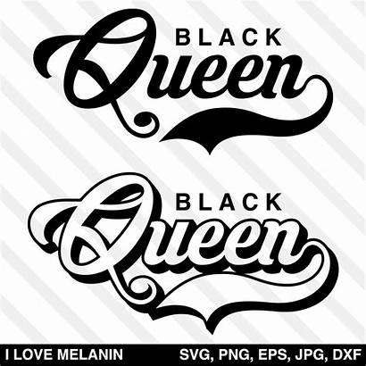 Svg Queen Melanin Regular