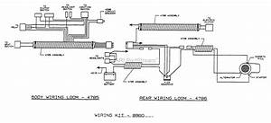 Dixon Ztr 4421  1995  Parts Diagram For Wiring Assembly