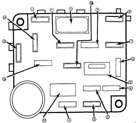 Ford Mustang Fuse Box Diagram Auto Genius