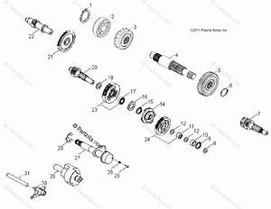 Polaris Atv 2016 Oem Parts Diagram For Drive Train
